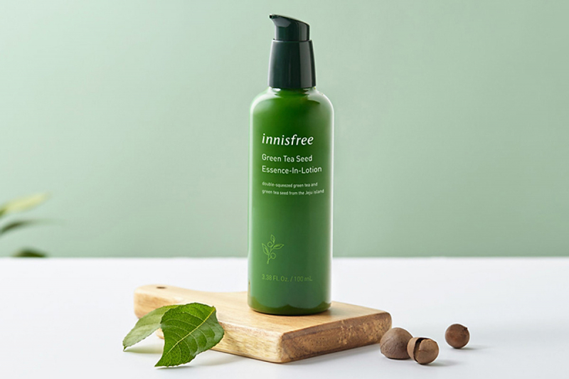 Sữa dưỡng kết hợp tinh chất 2 trong 1 innisfree Green Tea Seed Essence In Lotion 100ml