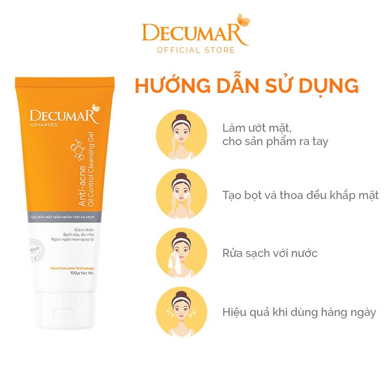Sữa rửa mặt dạng Gel Decumar Clean Advanced