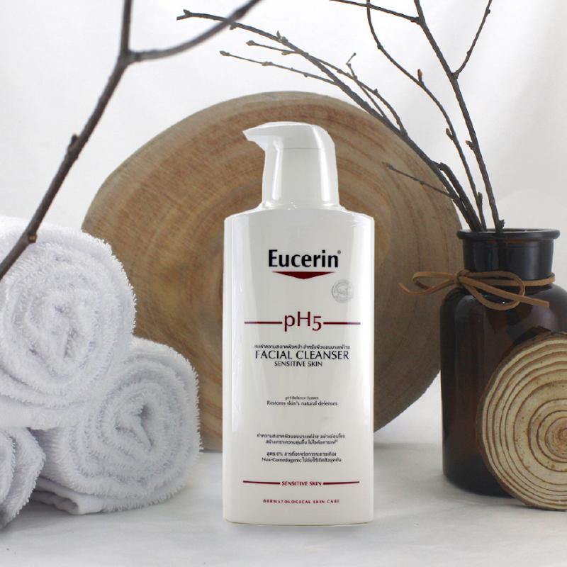 Sữa Rửa Mặt Eucerin Facial Cleanser PH5 Sensitive Skin