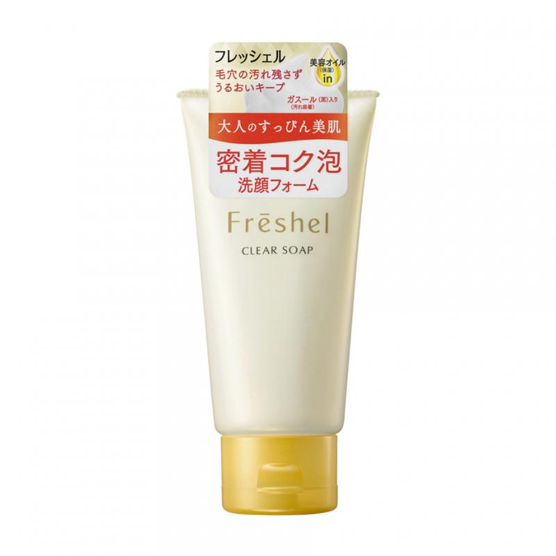 Sữa rửa mặt Kanebo Freshel Whitening Clear Soap 130g