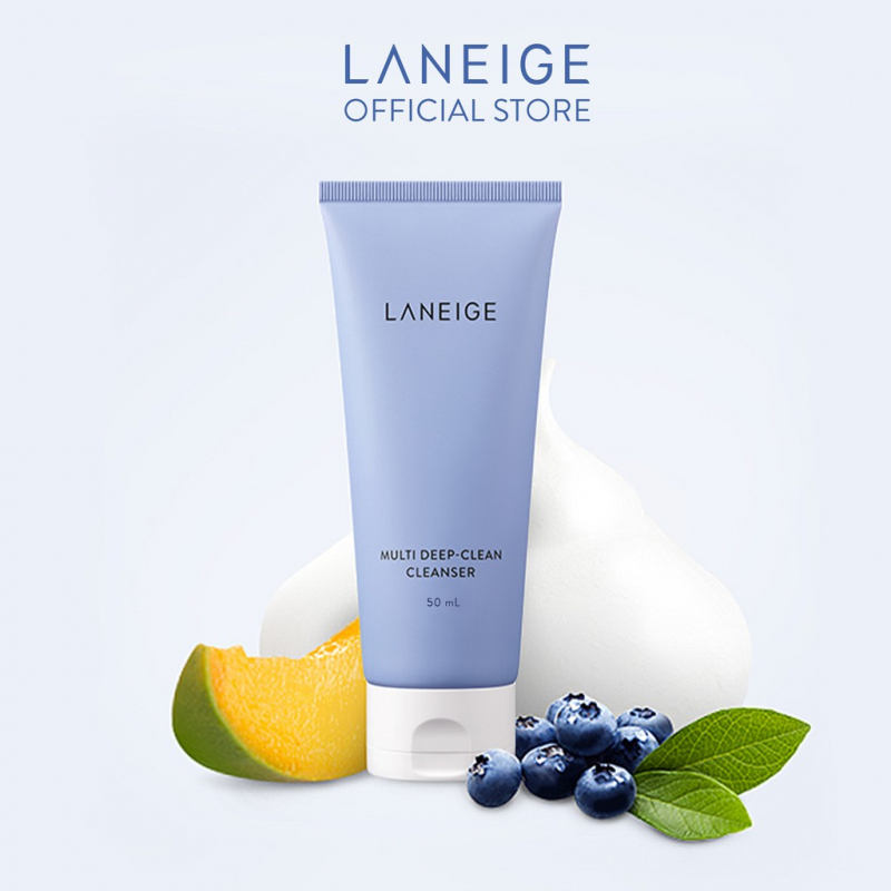 Sữa rửa mặt làm sạch sâu đa chức năng Laneige Multi Deep Clean Cleanser