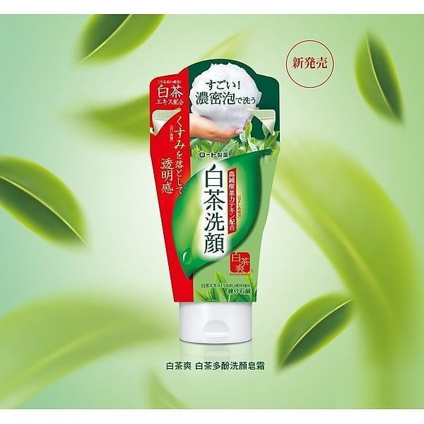 Sữa rửa mặt trà trắng Shirochasou White Tea Face Wash