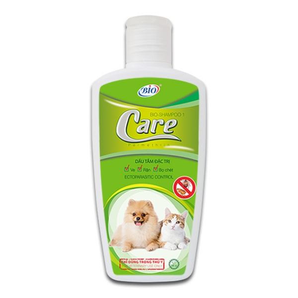 Sữa tắm Bio Care đặc trị ve rận, bọ chét cho chó mèo