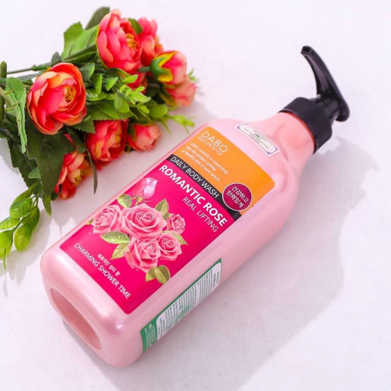 Sữa tắm Hàn Quốc cao cấp tốt nhất hiện nay - Dabo Romantic Rose