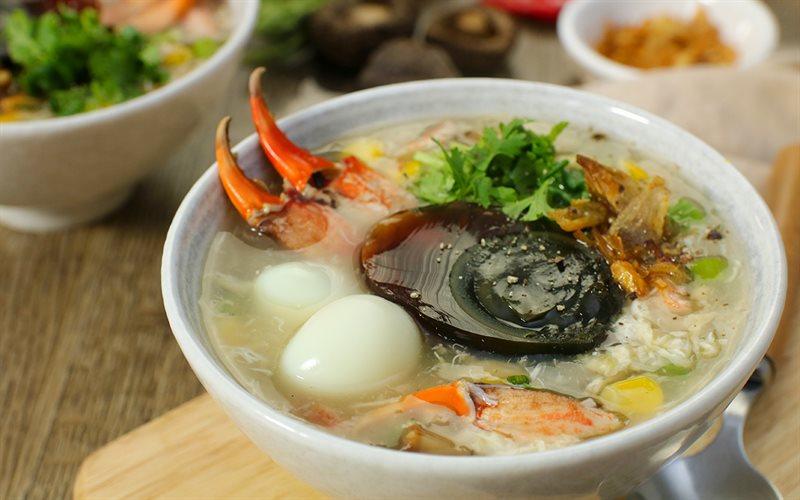 Món súp cua thơm ngon hấp dẫn