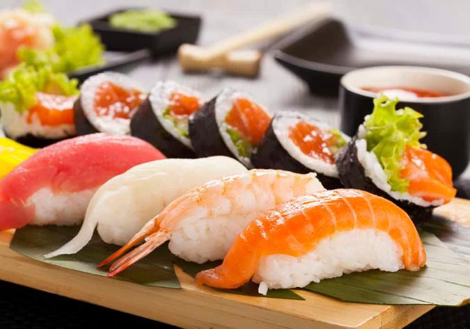 Sushi - Nhật Bản