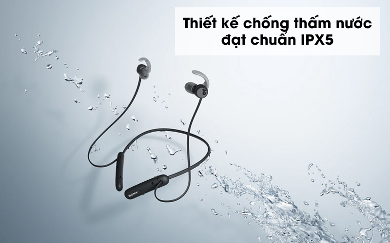Tai nghe Bluetooth Sony Extra Bass WI-SP510/BZ