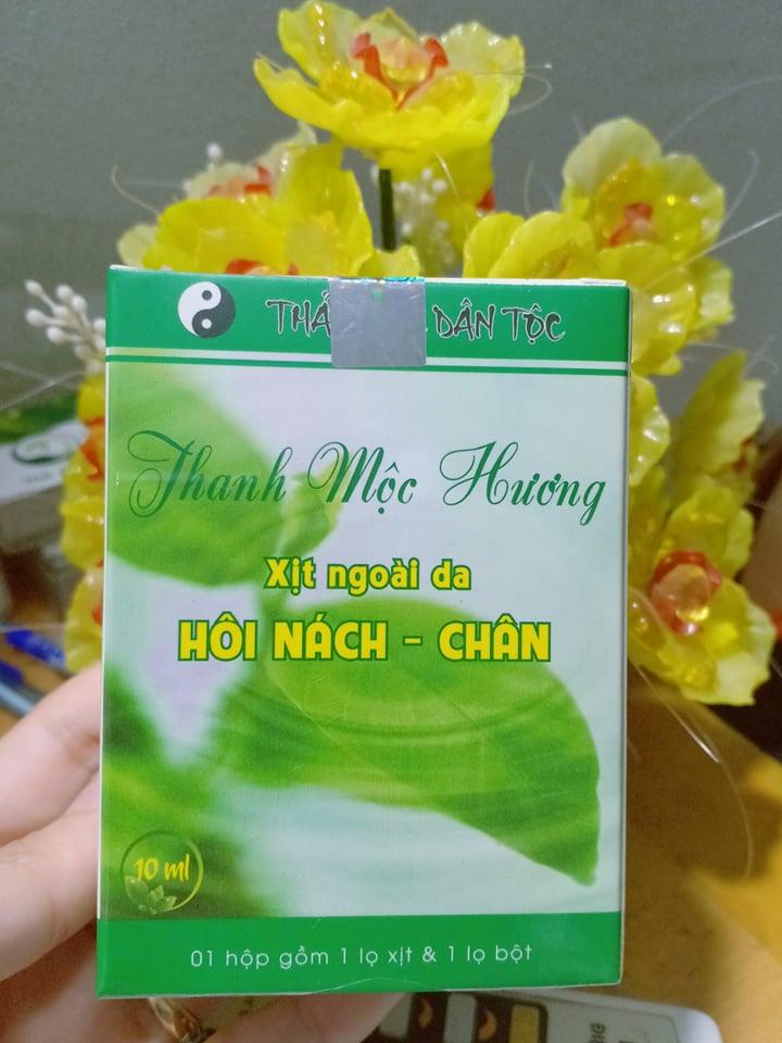 Thảo mộc trị hôi chân Thanh Mộc Hương