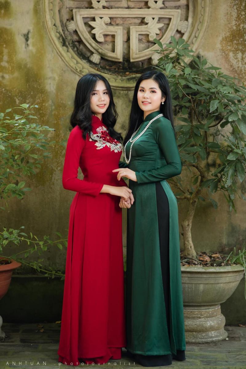 Các mẫu áo dài đủ kiểu dáng và phong cách