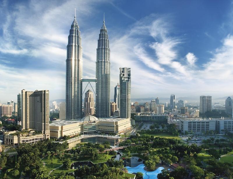 Tháp đôi Petronas- Malaysia