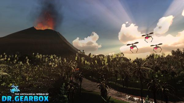 Tựa game RPG giáo dục The Mechanical World of Dr. Gearbox ra mắt bản demo trên Steam - ảnh 1