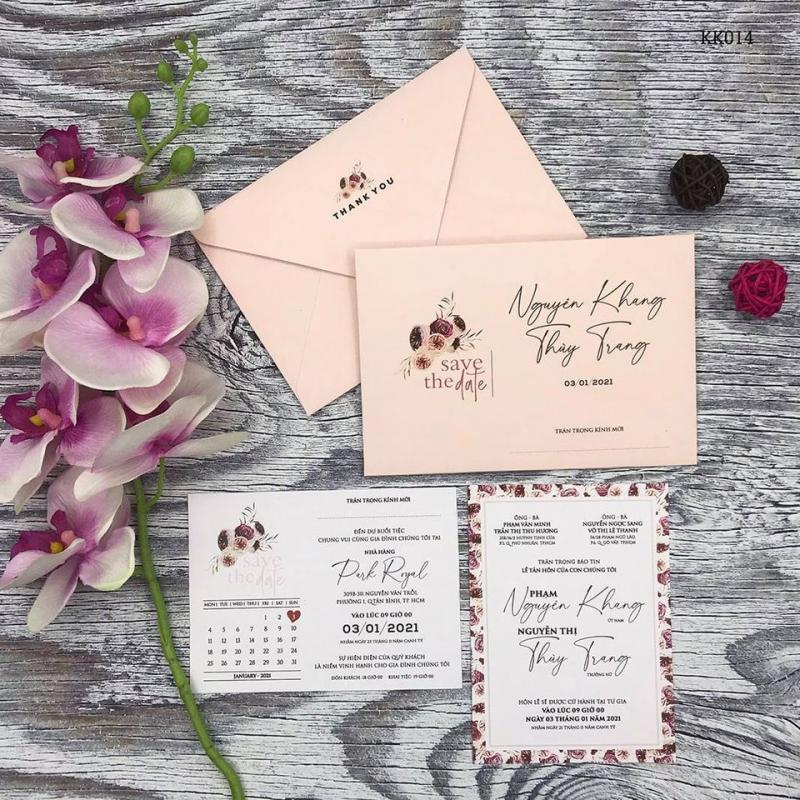 Thiệp cưới KK luôn hỗ trợ khách hàng của mình một cách tối đa và tốt nhất