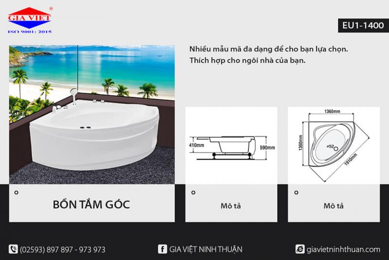 Top 3 Địa chỉ cung cấp thiết bị vệ sinh uy tín nhất tỉnh Ninh Thuận