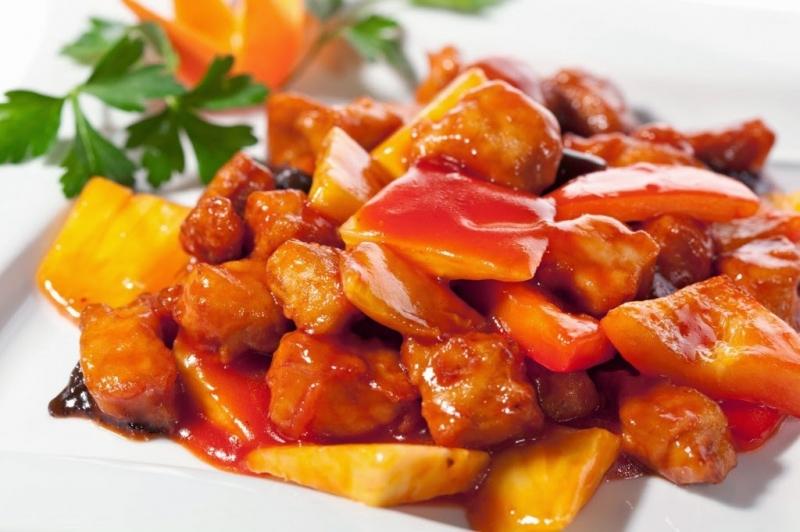 Thịt lợn chua ngọt