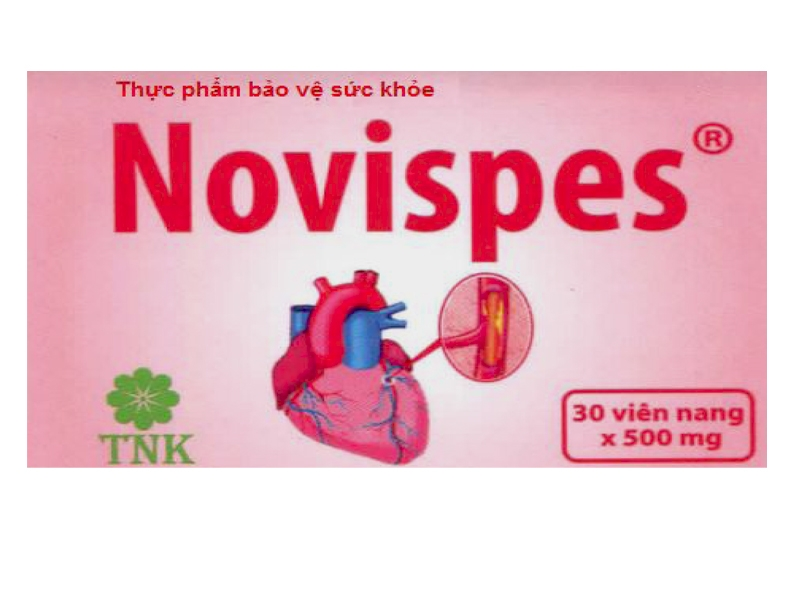 Thực phẩm chức năng Novispes hỗ trợ hạ huyết áp