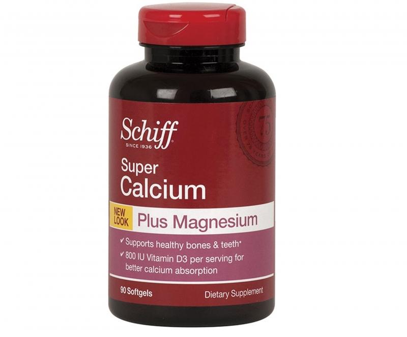 Schiff Calcium Magnesium Vitamin D3 giúp xương khớp luôn chắc khỏe