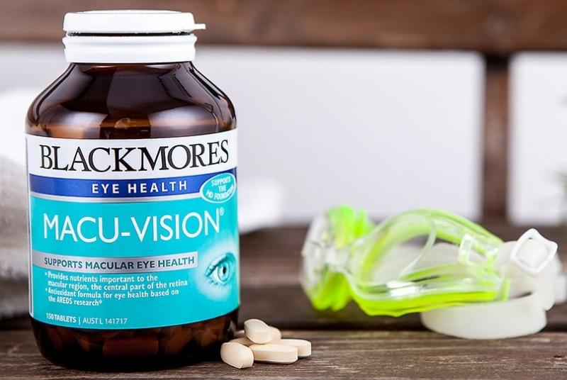 Viên uống bổ mắt Blackmores Macu Vision Plus của Úc