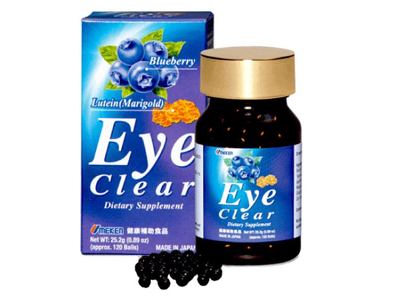 Viên uống bổ mắt Eye Clear của Nhật Bản