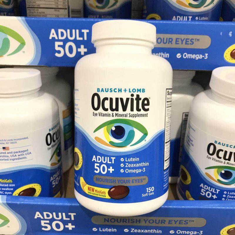 Viên uống bổ mắt Ocuvite Adult 50 + của Mỹ