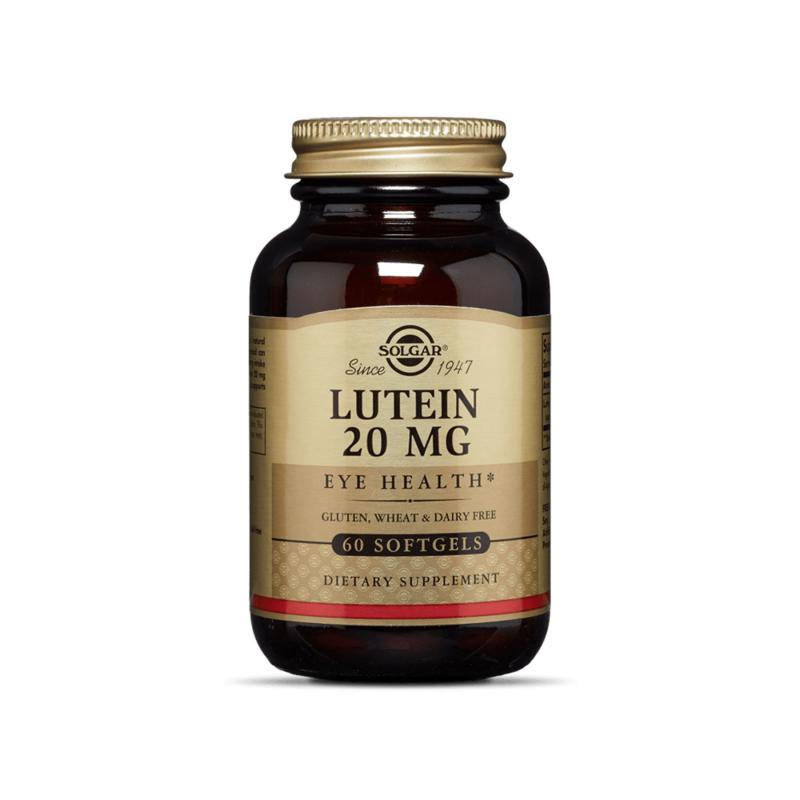 Viên uống bổ mắt Solgar Lutein