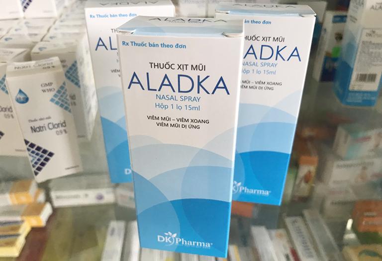 Thuốc xịt mũi ALADKA