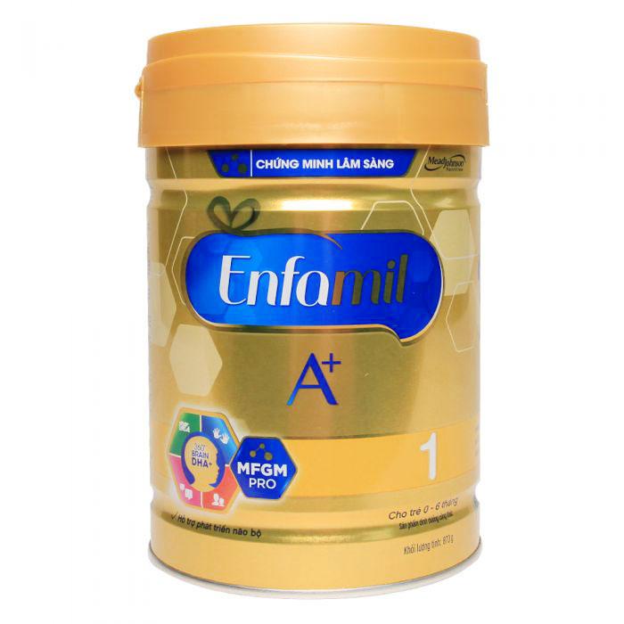 Sữa Enfamil A+ 1 360 Brain Plus 900g