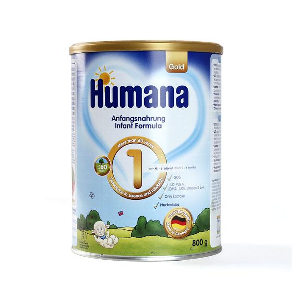 Sữa bột Humana Gold số 1