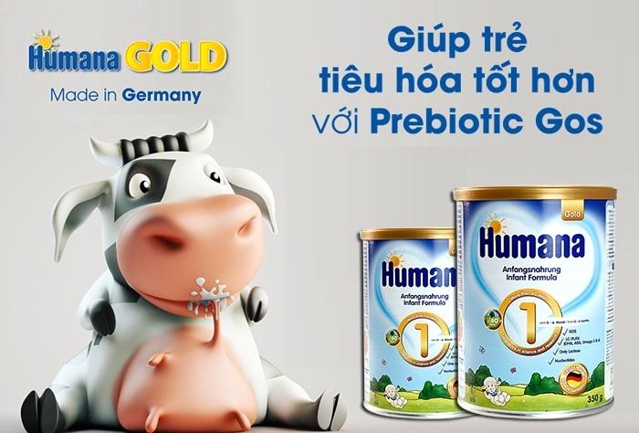 Humana Gold số 1, 0-6 tháng, 800g