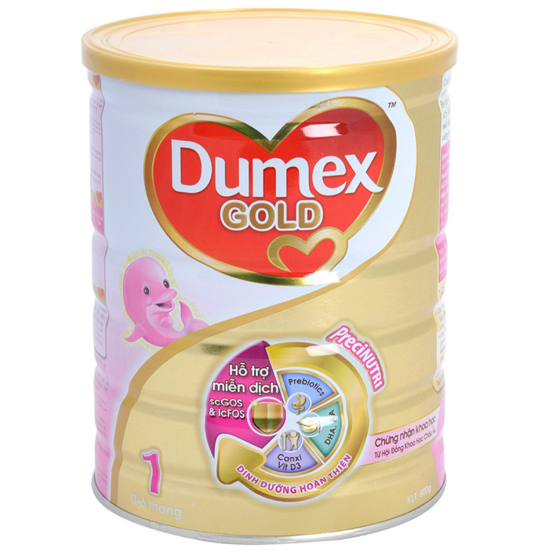 Sữa bột Dumex Dulac Gold