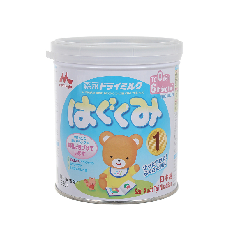 Sữa Morinaga Hagukumi số 1 850g (0 - 6 tháng)
