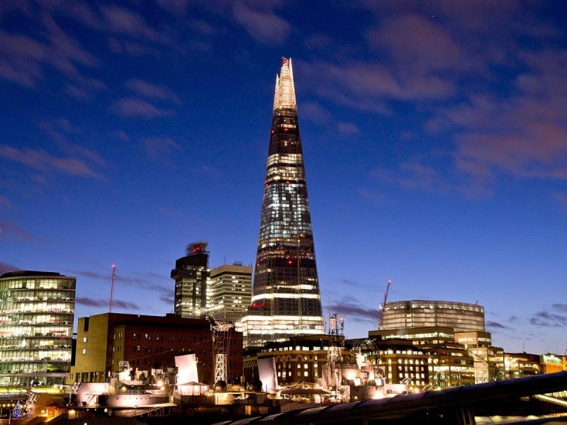 Tòa nhà chọc trời The Shard- London