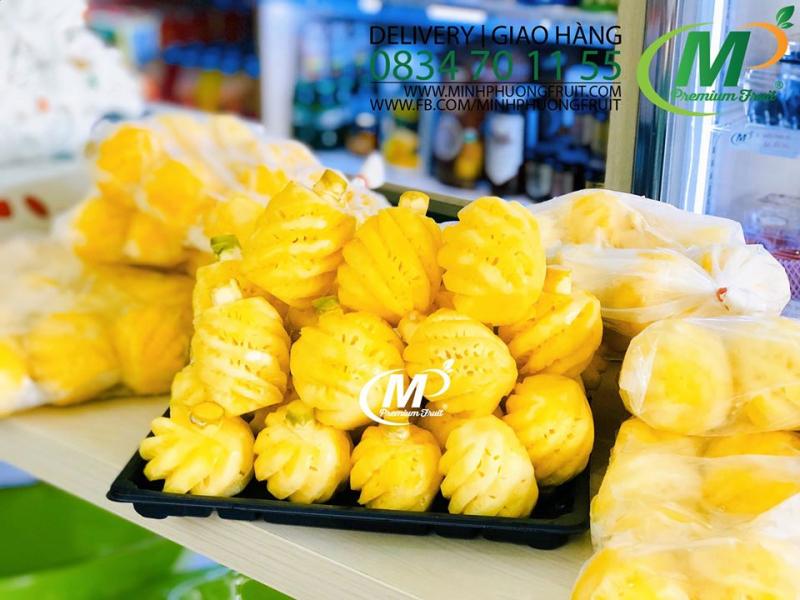 Trái Cây Nhập Khẩu - Minh Phuong Fruit giao hàng tận nơi, nhanh chóng với đội ngũ shipper nhiều kinh nghiệm