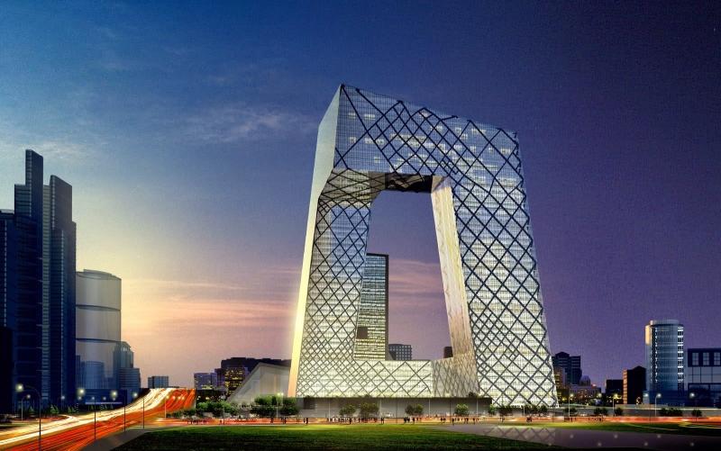 Đại diện cho hình ảnh Bắc Kinh hiện đại và phát triển.