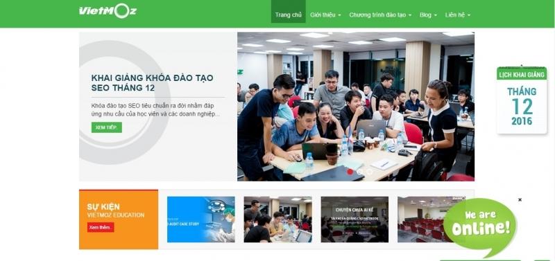 Trung tâm đào tạo marketing online VietMoz