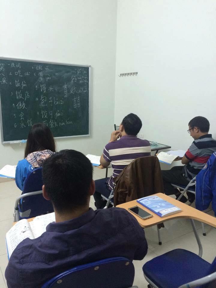Lớp học tiếng Trung tại trung tâm ngoại ngữ Panda Hạ Long