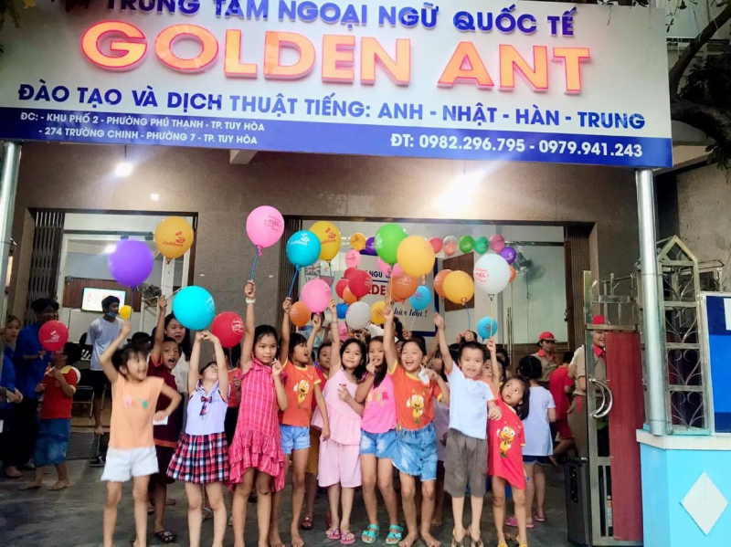 Trung tâm Ngoại ngữ Quốc tế Golden Ant