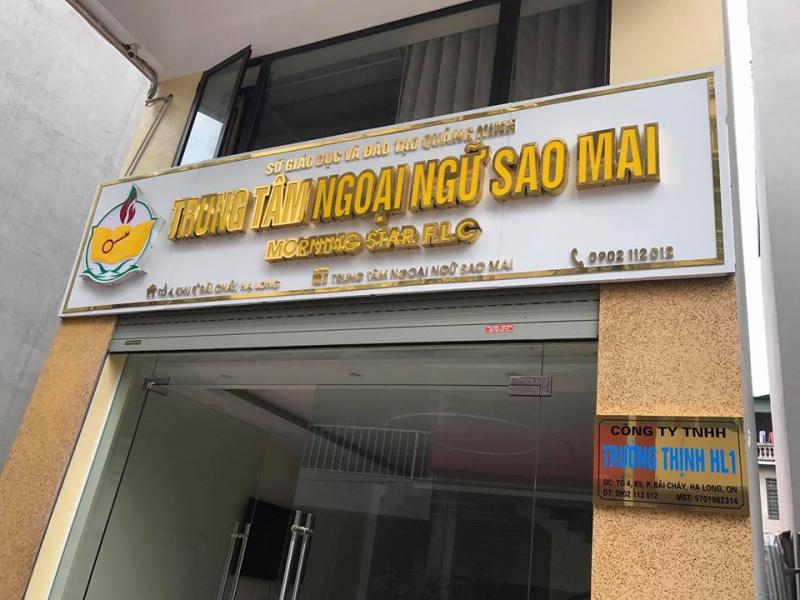 Trung tâm ngoại ngữ Sao Mai