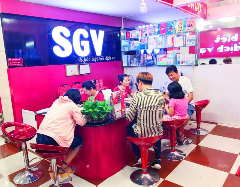 Học viên học tập tại SaiGon Vina