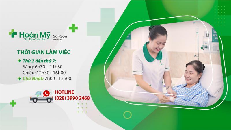 Bệnh viện Hoàn Mỹ Sài Gòn được trang bị đầy đủ, hiện đại với đội ngũ chuyên gia luôn sẵn sàng giúp bạn duy trì cuộc sống khỏe mạnh, năng động
