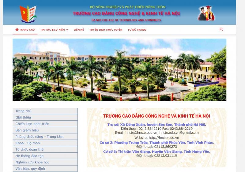 Trường Cao đẳng Công nghệ Kinh tế Hà Nội