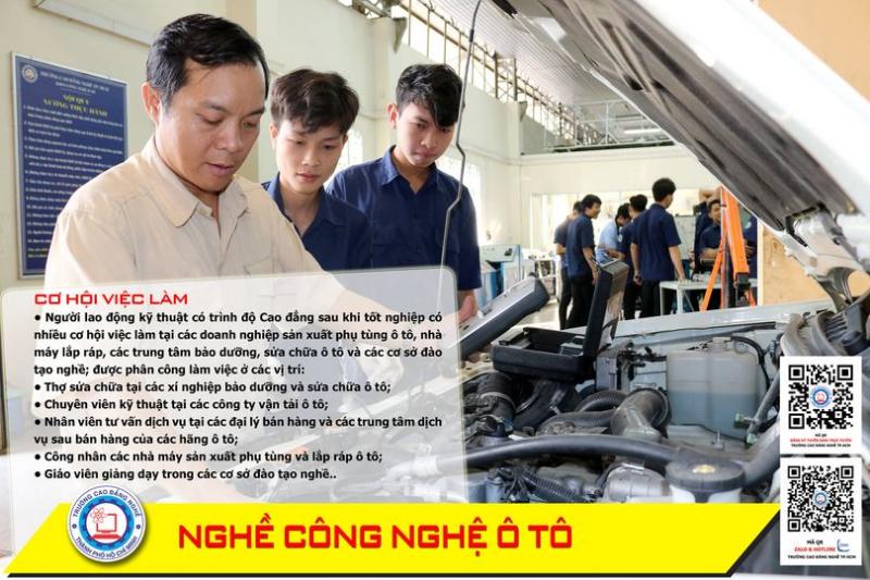 Top 7 Trung tâm dạy nghề sửa chữa ô tô tốt nhất TP. Hồ Chí Minh