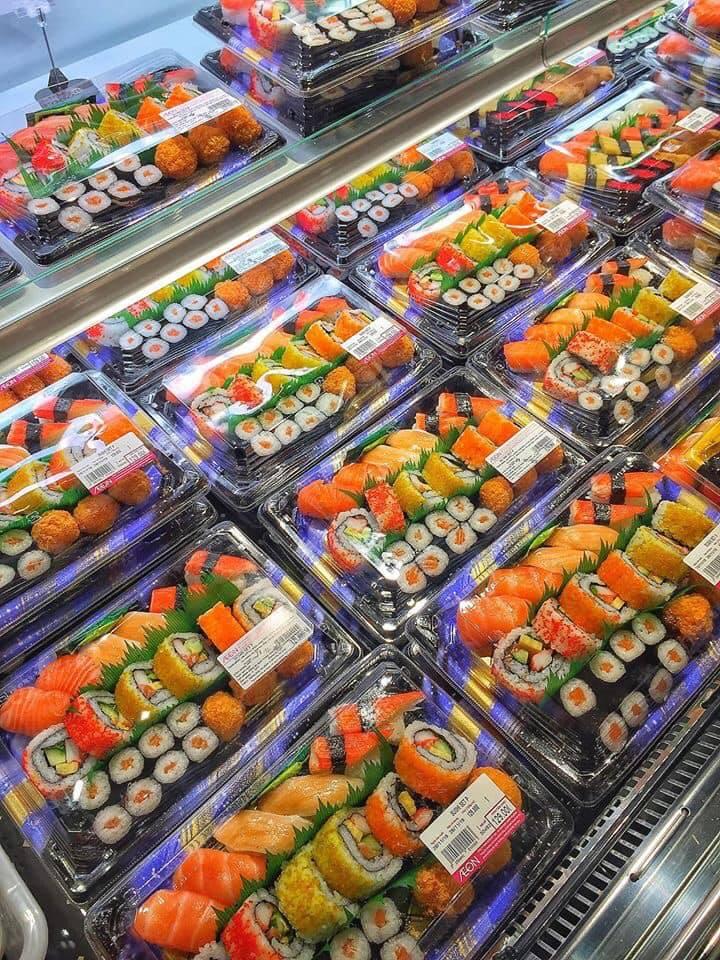 Sushi tại TTTM Aeon Mall Long Biên Hà Nội