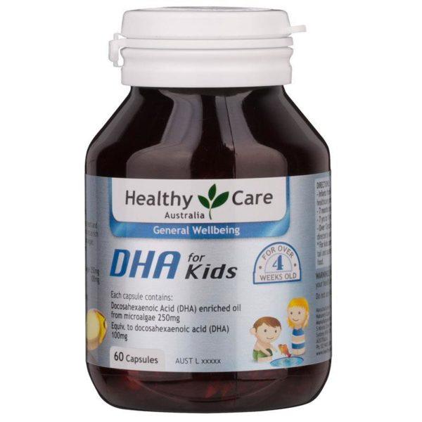 Viên bổ sung DHA cho bé Healthy Care Kid's High DHA