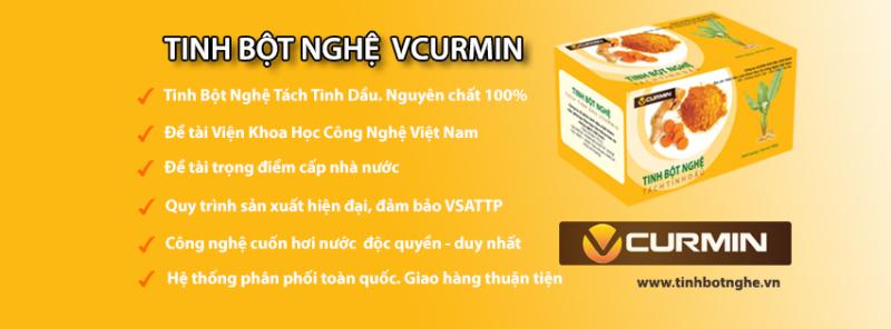 VCurmin - Tinh Bột Nghệ Tách Tinh Dầu