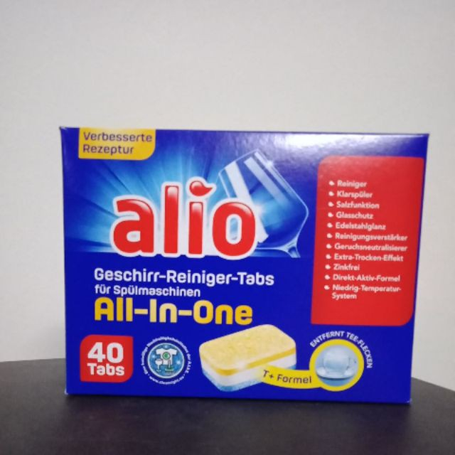 Viên rửa bát Alio All in one