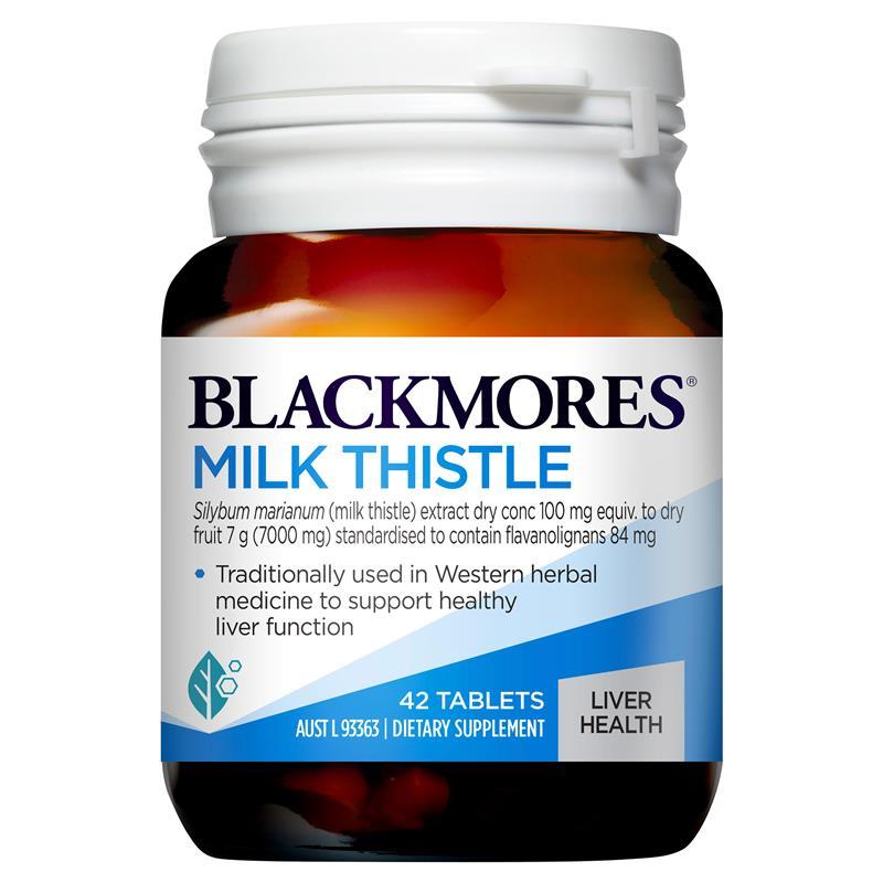 Viên uống bổ gan, giải độc tố Blackmore Milk Thistle Úc