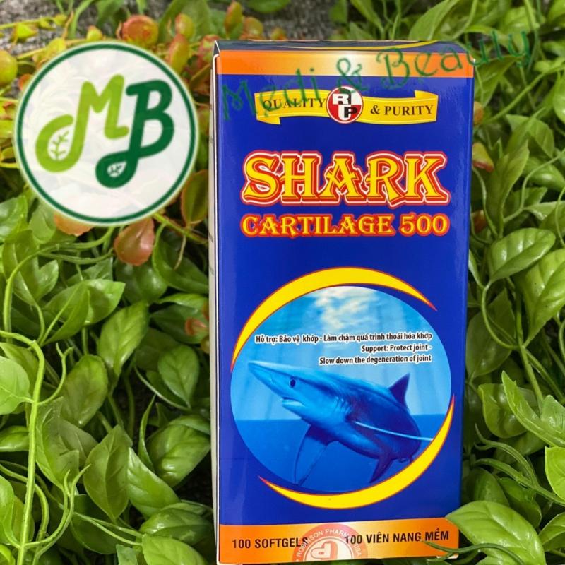 Viên uống bổ khớp, tái tạo khớp, chống thoái hóa khớp Shark Cartilage