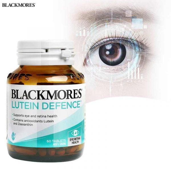 Viên uống Bổ Mắt Cho Người Cận Thị - Blackmores Lutein Defence