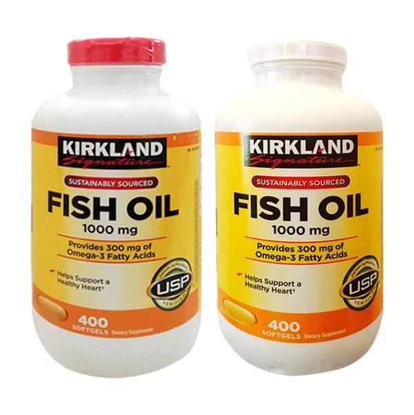 Kirkland Fish Oil 1000mg