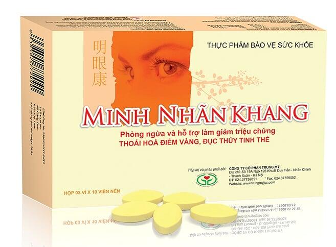 Viên uống bổ mắt Minh Nhãn Khang của Việt Nam